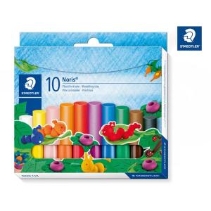 STAEDTLER Noris 8420 Plastilin-Knete - 10 Farben