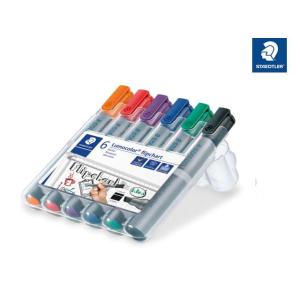 STAEDTLER Lumocolor Flipchart-Marker - 2+5 mm - 6er Box