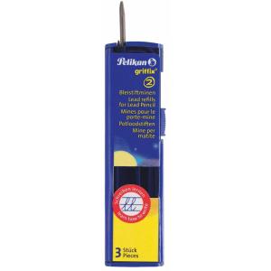 Pelikan Griffix - 3 Minen für Bleistift - Härte HB
