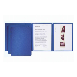 Pagna Präsentationsmappe Sprint blau, mit 2...
