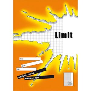 Landré Schulheft - DIN A4 - Lineatur 26 - 16 Blatt