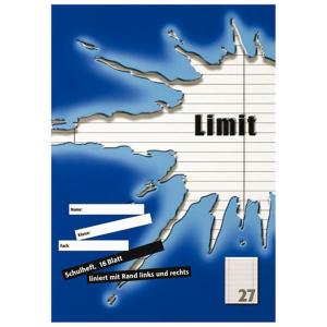 Landré Schulheft - DIN A4 - Lineatur 27 - 16 Blatt