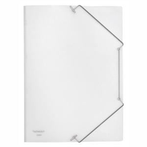FolderSys Eckspanner-Mappe, PP, A4, farblos matt transparent