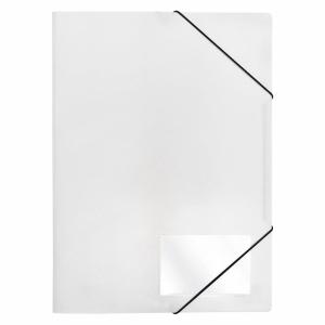 FolderSys Eckspanner Mappe Standard weiß 1 Stück