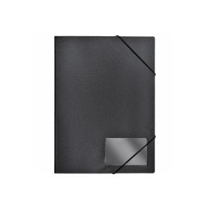 FolderSys Eckspanner-Mappe, Standard, schwarz, 1 Stück