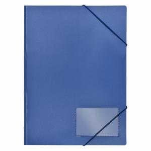 FolderSys Eckspannmappe blau, 1 Stück