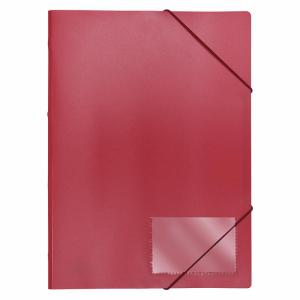 FolderSys Eckspannmappe, Standard, rot, 1 Stück