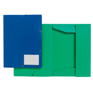 FolderSys Eckspannmappe blau 1 Stück