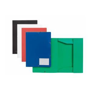 FolderSys Eckspannmappe Standard rot 1 Stück