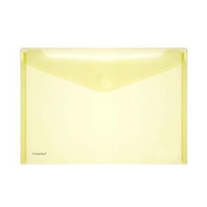 FolderSys Sichttasche A4quer, trans gelb 1 Stück