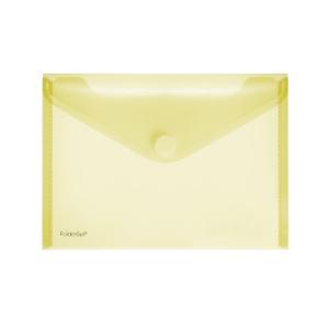 FolderSys Sichttasche A5quer, trans gelb