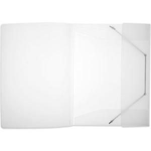FolderSys PP-Eckspanner-Sammelmappe, A4, transparent