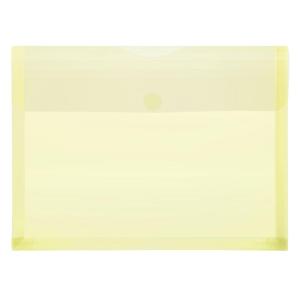 FolderSys PP-Umschlag A4, Dehnfalten, trans gelb, 1...