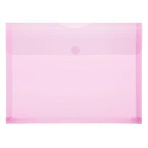 FolderSys PP-Umschlag A4, Dehnfalten, trans rot, 1...