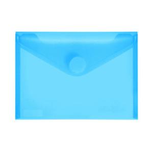 FolderSys PP-Umschlag A6quer, blau klar, 1 Stück