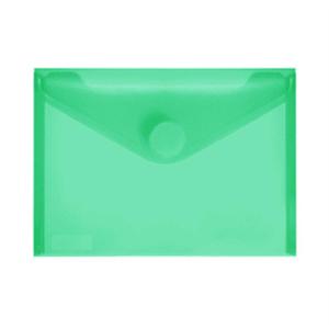 FolderSys PP-Umschlag A6quer, grün klar, 1 Stück