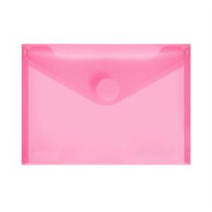 FolderSys PP-Umschlag A6quer, rot klar, 1 Stück