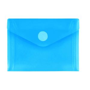 FolderSys PP-Umschlag A7quer, blau klar, 1 Stück
