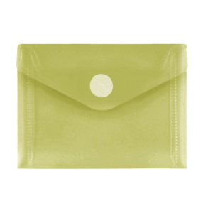 FolderSys PP-Umschlag A7quer, gelb klar, 1 Stück