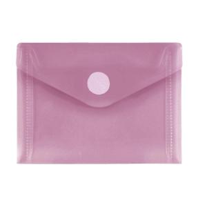 FolderSys PP-Umschlag A7quer, rot klar, 1 Stück