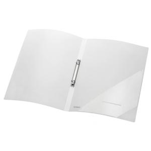 FolderSys Ringbuch PP A4 2-O-Ringe, 16mm farblos transluzent