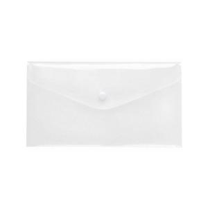 FolderSys PP-Transparent-Umschlag, LangDIN, Druckknopf,...