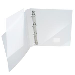 FolderSys Präsentations-Ringbuch, A4, 4-Ringe 25mm,...