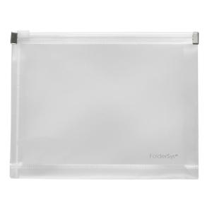 FolderSys Gleitverschluss-Beutel, A6, Dehnfalte, PP farblos