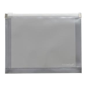 FolderSys Gleitverschluss-Beutel, A6, Dehnfalte, PP anthraz