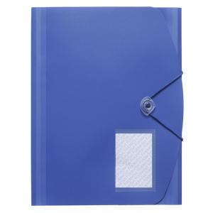 FolderSys Eckspanner-Sammelmappe, PP, A4, blau