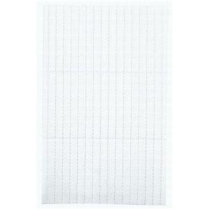 Legamaster Einlegeetikett 15x60mm weiß