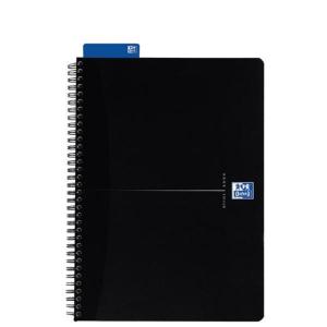 Oxford Spiralbuch Smart Black - DIN A5 - kariert - 90 Blatt