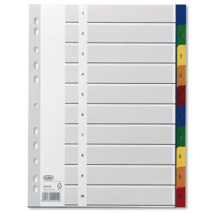 Elba Register PP farbig 1-10 Blatt