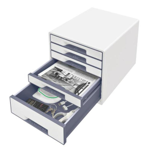 Leitz Schubladenbox WOW CUBE - 5 Schubladen -...