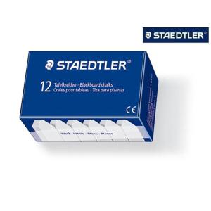 STAEDTLER 2350 Wandtafelkreide - weiß - 12 Stück