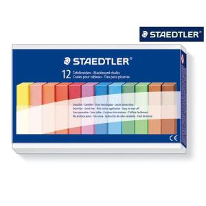 STAEDTLER 2360 Wandtafelkreide - farbig - 12 Stück