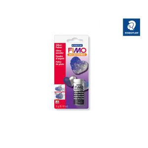 STAEDTLER FIMO 8708 Metallic-Pulver - silber - 3 g