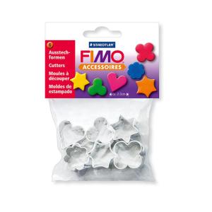 STAEDTLER FIMO 8724 03 Ausstechform - Metall - 6 Motive