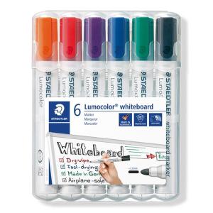STAEDTLER Lumocolor Whiteboard-Marker - 2 mm - 6er Box