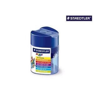 STAEDTLER 512 F Doppelspitzdose - Dreikant-Design - blau