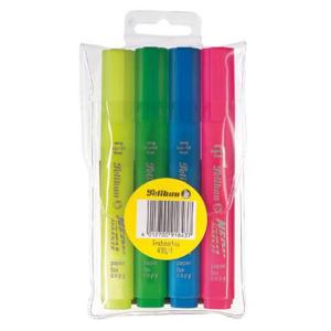 Pelikan Textmarker 438 - blau - pink - gelb - grün -...
