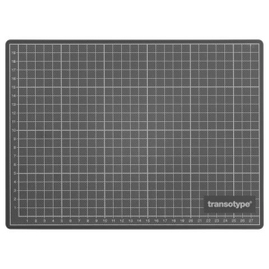 transotype Schneidematten grün/schwarz 300 x 220 mm