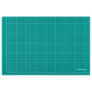 transotype Schneidematten grün/schwarz 900 x 600 mm