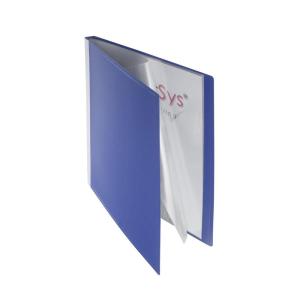 FolderSys Sichtbuch, 10 Hüllen, PP, blau