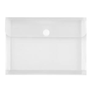 FolderSys Transparent-Umschlag A5, Dehnfalte, PP farblos