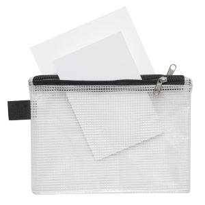 FolderSys Sammelbeutel, A6, 2 Fächer, PVC klar...