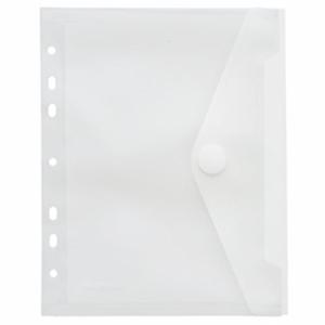 FolderSys Sichttasche A5, Klettverschluss, Abheftrand, PP