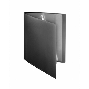 FolderSys Sichtbuch flexibel, 10 Hüllen, A4, PP schwarz