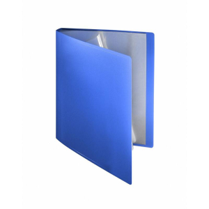 FolderSys Sichtbuch flexibel, 20 Hüllen, A4, PP blau