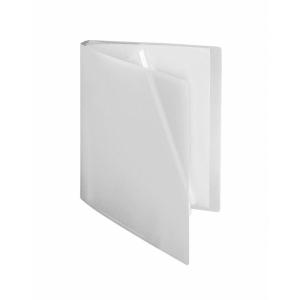 FolderSys Sichtbuch flexibel, 10 Hüllen, A4, PP farblos